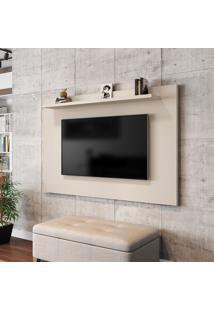 Painel Para Tv Até 50 Pol Móveis Bechara Kenzo Off-White