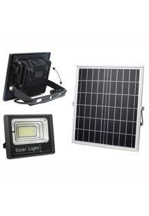 Refletor Solar Placa Holofote Luminária Economia Solar