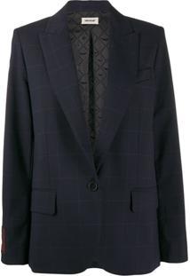 Zadig&Voltaire Boxy Blazer - Azul