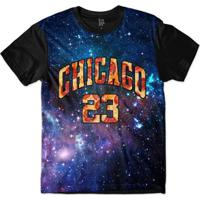 Camiseta Lf Chicago 23 Sublimada Masculina - Masculino-Roxo 81371d2d78dd0