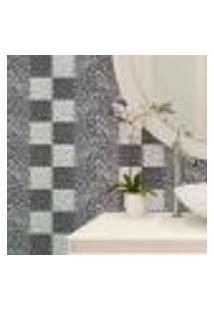 Papel De Parede Autocolante Rolo 0,58 X 5M - Azulejo Abstrato 288213725