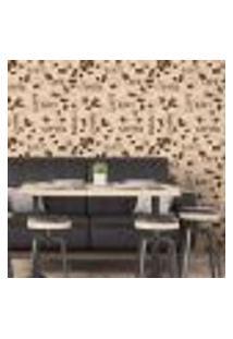 Papel De Parede Autocolante Rolo 0,58 X 5M - Café Cozinha 262930105