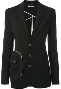 Givenchy Blazer Com Bolso - Preto