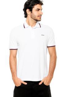 Camisa Polo Sommer Viés Branca
