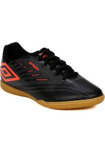 Tênis Futsal Masculino Umbro Speed Iv Preto