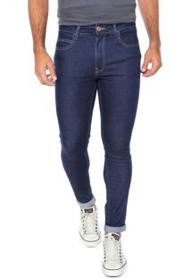 Calça Jeans Cavalera Skinny Stone Azul