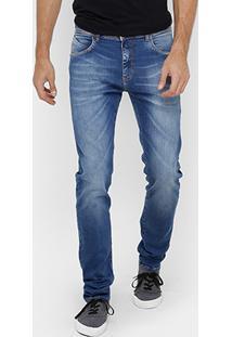 Calça Jeans Slim Forum Paul Indigo Masculina - Masculino