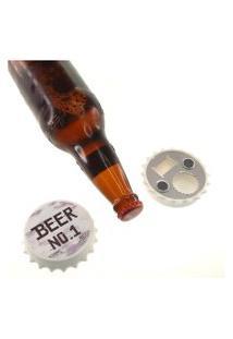 Abridor De Garrafas Tampinha Cerveja N0.1 Decorativa