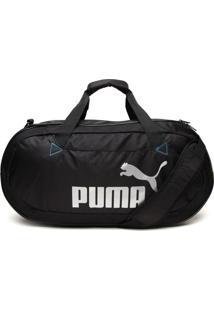 Mala Puma Styfr-Active Tr Duffle Bag S Preta