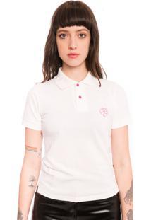 Camisa Polo Saloon 33 Branca - Kanui