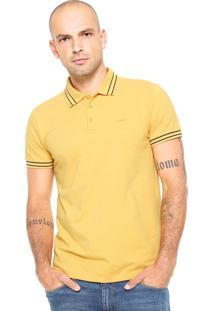 Camisa Polo Colcci Lisa Amarela