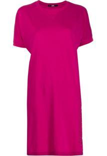 Karl Lagerfeld Address T-Shirt Dress - Rosa