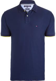 Polo Masculina Regular Fit - Azul