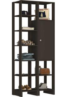 Guarda Roupa Closet 2 Peças 1 Porta C/ 2 - Tricae