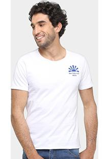 Camiseta Sergio K Single Masculina - Masculino-Branco