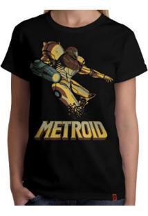 Camiseta Metroid