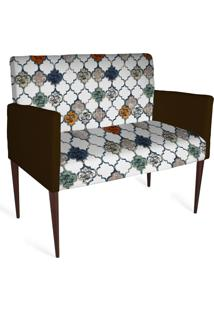 Cadeira Decorativa Mademoiselle Plus 2 Lug Imp Digital 128 - Kanui