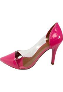 Scarpin Zhaceci Feminino - Feminino-Pink