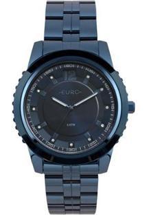 Relógio Euro Feminino Metal Glam - Eu2035Yoe/4A Eu2035Yoe/4A - Feminino-Azul