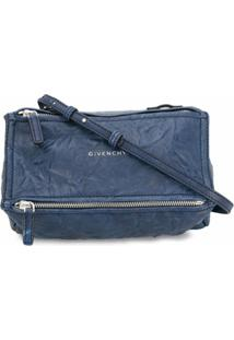 Givenchy Bolsa Tiracolo Pandora Mini - Azul