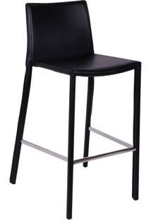 Banqueta Glam - Preta - 102X52,5X42,5Cm - Or Desor Design