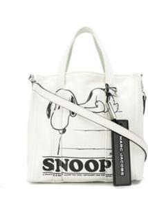 Marc Jacobs Bolsa Tote Snoopy Mini - Branco