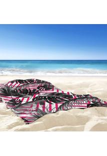 Toalha De Praia / Banho Floral Taiti