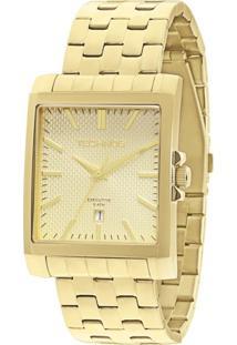 Relógio Feminino Technos 2115Koz/4X 36Mm Aço Dourado - Tricae