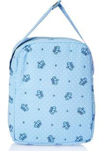 Bolsa Térmica - Alan Pierre Baby - Coroa Azul Claro
