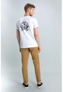 Camiseta Flor Bauhinia Mumo Masculina - Masculino