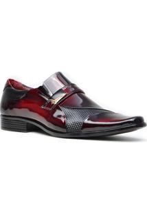 Sapato Promais 0701A Co - Masculino-Vinho