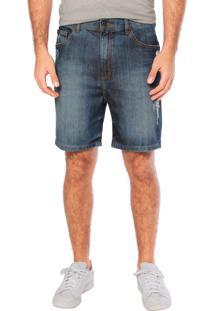 Bermuda Jeans Ellus Okaway Azul