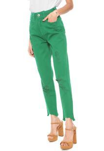 f88ddb729 Calça Colcci Verde feminina | Shoelover