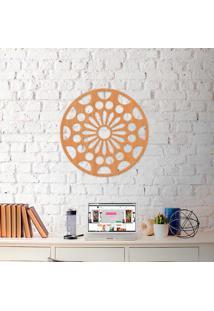 Escultura De Parede Wevans Mandala Floral Mandala