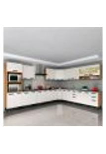 Cozinha Completa New Jazz 26 Pt 4 Gv Off White E Freijó