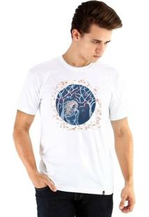 Camiseta Ouroboros Manga Curta Red Ornaments - Masculino