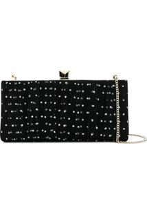 Jimmy Choo Celeste Clutch Bag - Preto