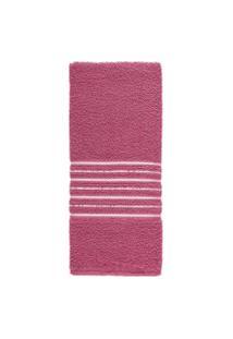 Toalha De Banho Teka Escala Rosa 65Cm X 120Cm 280G/M²