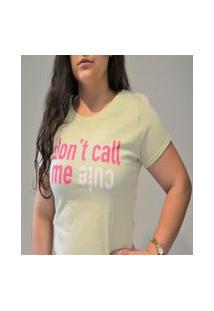 Camiseta Manga Curta Com Estampa Hering