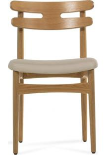 Cadeira Hw - Henry Klein Cores Ii Tecido Sintético - Bege Claro