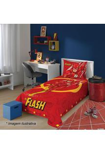 Jogo De Cama Liga Da Justiã§A The Flashâ® Solteiro- Vermellepper