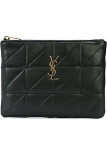 Saint Laurent Carteira 'Jamie' - Preto