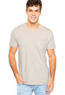 Camiseta Redley Bolso Bege