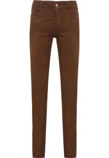 Calça Masculina Color - Marrom
