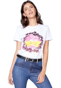 Amaro Feminino T-Shirt Ms. Rabbit, Branco