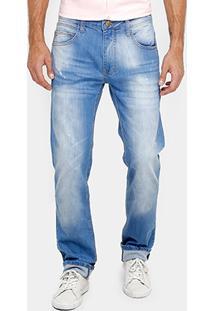 Calça Jeans Reta Colcci Alex Indigo Masculina - Masculino