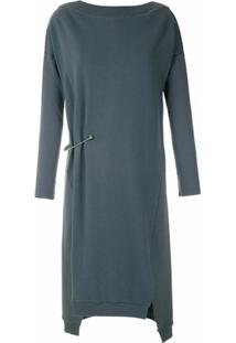 Uma | Raquel Davidowicz Vestido Brunei De Moletom - Cinza