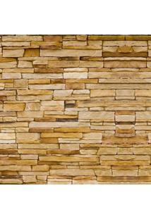 Papel De Parede Adesivo Pedra Canjiquinha Bege (2,50M X 0,60M)