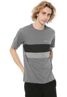 Camiseta Quiksilver Gradient Cinza