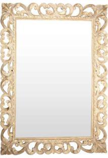 Espelho C/ Moldura Arabesco Pátina 125Cm